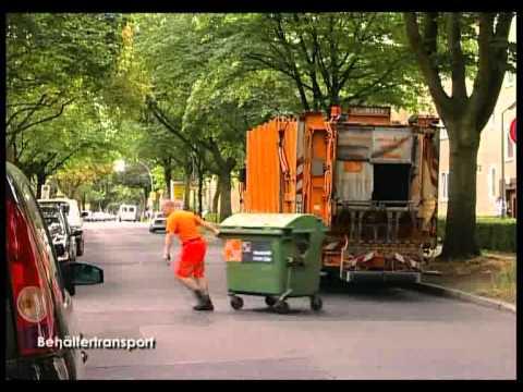 Behältertransport - Alltag eines Entsorgers