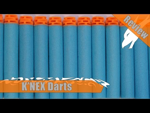 Rise of the Honeycomb Dome? | K'NEX Darts Initial Thoughts and Comparisons | A Quick Look Review
