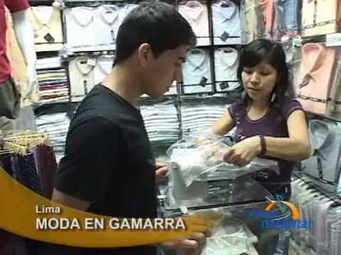 Gamarra dicta la moda de verano en Lima