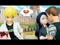 Ladybug & Cat Noir Doll Episodes - Adrien is Jealous - Does Marinette Like Ninos Cousin? -