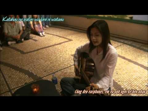 YUI's Goodbye Days Scene - Taiyou No Uta [Vietsub]