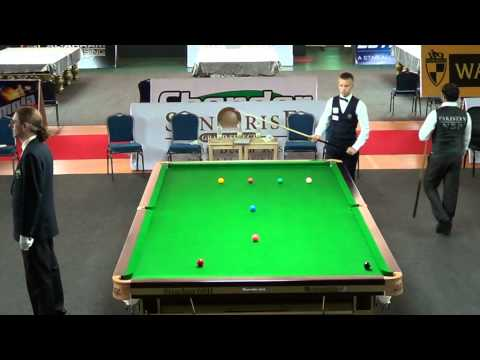 6Reds Quarter Final Frame: Muhammad Sajjad vs. Kacper Filipiak