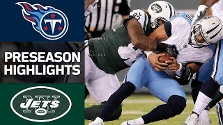 Titans vs. Jets | NFL Preseason Week 1 Game Highlights