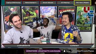 Tuesday 7.41.0: Capcom Cup 2018 Prediction, MK11 Announced, Smash Ult Impressions, Etc. (2018-12-11)