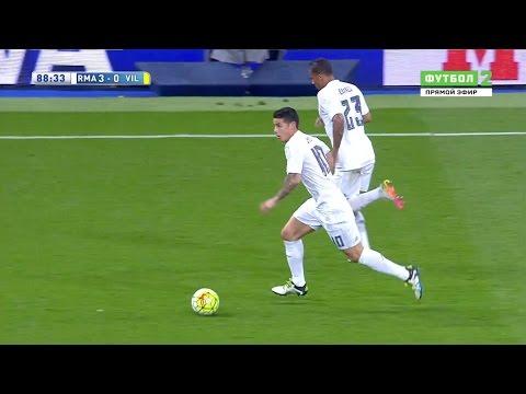 James Rodriguez vs Villareal (H) 15-16 HD 1080i by JamesR10™