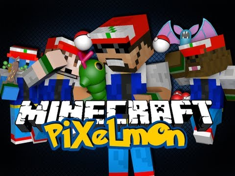 WELCOME TO MINECRAFT PIXELMON! (Pokemon in Minecraft)