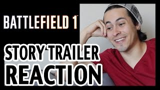 Battlefield 1 Single Player Story mode Trailer Reaction