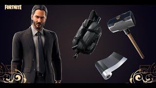 Fortnite [PS4] | Wicks Bounty | John Wick, Gift Giveaway Stay Active & Subscribe! | 3k Subs Grind