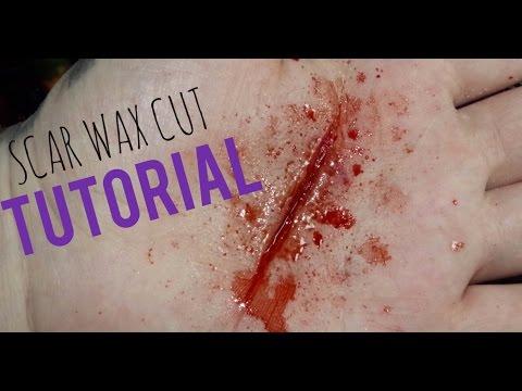 Scar Wax Fake Cut Tutorial