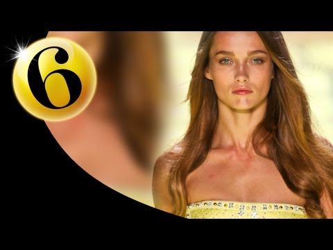 #6 Karmen Pedaru - Spring 2012 First Face Countdown | Fashiontv - Ftv video
