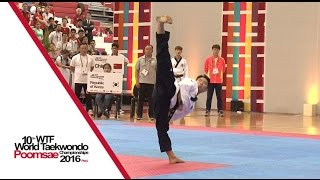 Under 30 Individual Male Final | Yuxiang ZHU (CHN) vs Kwang-ho PARK (KOR)