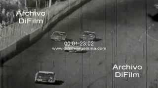 DiFilm - Bobby Allison wins Nascar National 500 - 1972