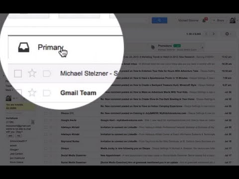 How to disable Gmail tabs