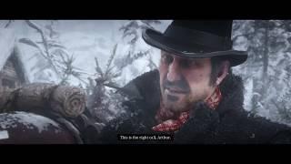 Red Dead Redemption 2 - Old Friends: Micah Bell Punches Bill Williamson, Dutch Plan Cutscene (2018)