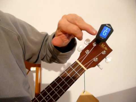 accordeur électronique de guitare