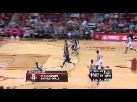 Memphis Grizzlies vs. Houston Rockets Full Highlights 22 December 2012
