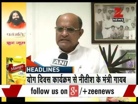 Home minister Rajnath Singh to meet protesting BJP MP Mahesh Giri