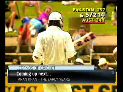 Imran Khan - 'The lion of Pakistan'   Legends of Cricket Part 1