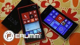 Nokia Lumia 1020 vs Lumia 925 vs Lumia 920 подробное сравнение от FERUMM.COM