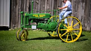 1935 John Deere Model B - The Ed Westen Tractor Collection Auction
