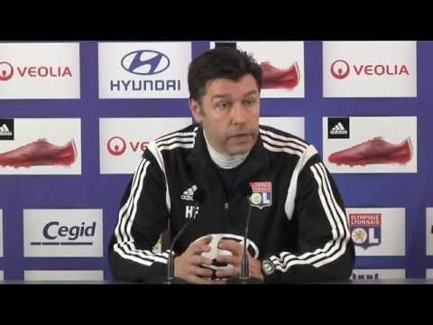 Hubert Fournier: Haben uns keine Ziele gesetzt | FC Lorient - Olympique Lyon