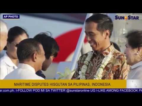Maritime disputes hisgutan sa Pilipinas, Indonesia