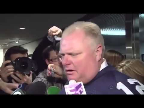 ▶ SHOCKING   Toronto Mayor Rob Ford Says He