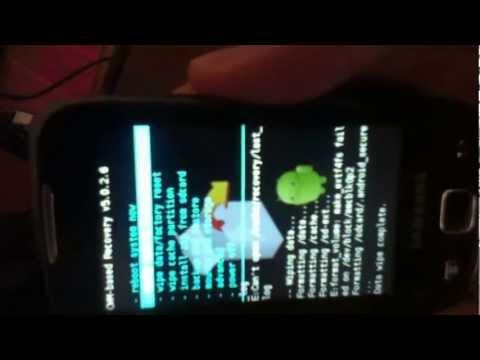 Instalar CM 7.2 en Galaxy i5510