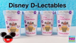 Disney D-Lectables Collection 1 Layers Of Magic Squishy Surprise Toy Review | PSToyReviews