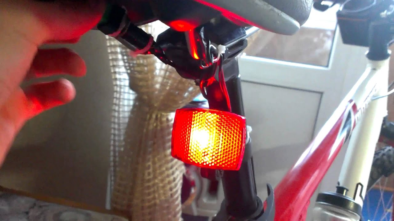 Стоп сигнал на велосипеде своими руками 225