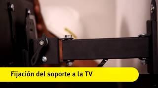 """Colocación de soporte móvil para una TV de 32"""""""