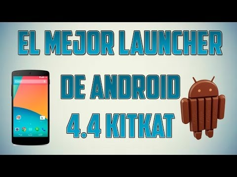Instalar Launcher de Android 4.4 KitKat - EL MEJOR