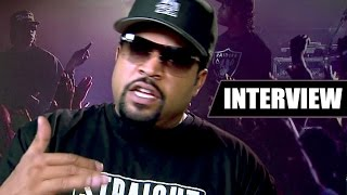Ice cube et son fils parlent du film nwa [interview]