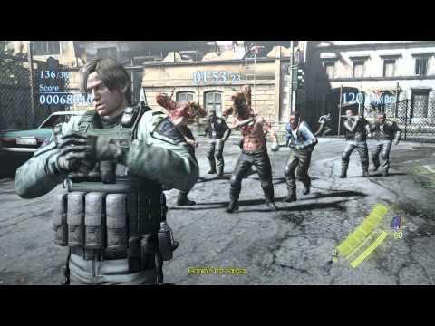 Resident Evil Bsaa Logo ▶ Resident Evil 6 pc Leon