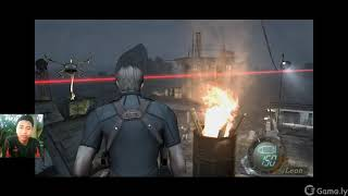 Resident Evil 4 Chapter 5-1 enter the island to find asley , fight experiment x