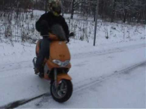 gilera runner michelin pilot sport vs studded winter tires