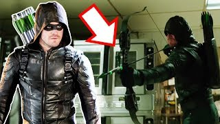 New Green Arrow Suit and Bow Breakdown! - Arrow Season 6