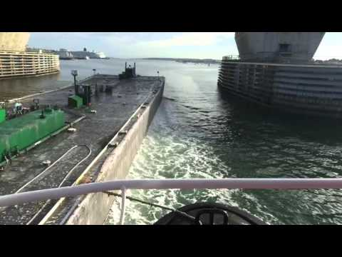 Bunker Barge Time Lapse