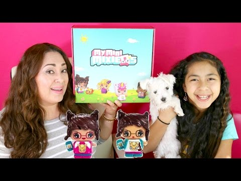 NEW TOYS!! MY MINI MIXIE Q'S Huge Unboxing| B2cutecupcakes