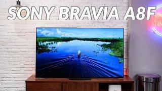 """Sony BRAVIA A8F: lựa chọn OLED thay cho LCD cao cấp, 55"""" giá 59 triệu đồng"""