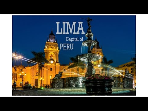 Lima, the capital of Peru - Travel and Tourism - Ventuno