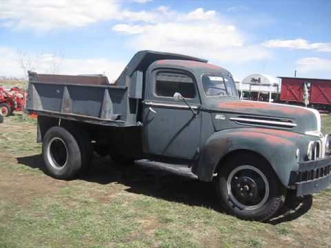 1950 Ford F1 For Sale 1946 FORD F5 - YouTube
