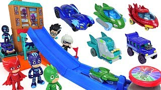 PJ Masks! Breathtaking obstacle Jump track die cast playset play with disney cars! - DuDuPopTOY