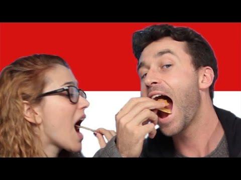 Americans Taste Test Indonesian Snacks