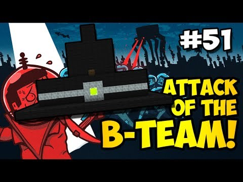 Minecraft: FLYING WITCH AIRSHIP!!! - Attack of the B-Team Ep. 51 (HD)