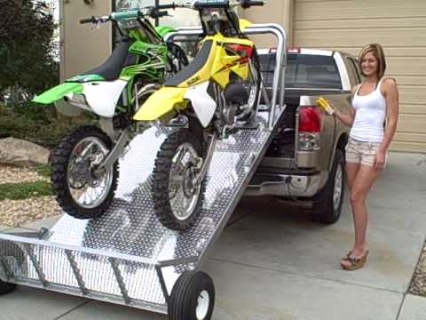 Load And Unload Your Dirt Bikes The Easy Way Elevation