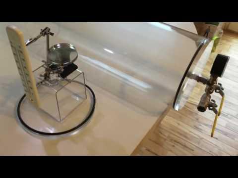 Flat Earth Vacuum Experiment   Heat Transfer