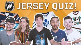 CAN YOU PASS THIS INSANELY DIFFICULT NHL JERSEY QUIZ?