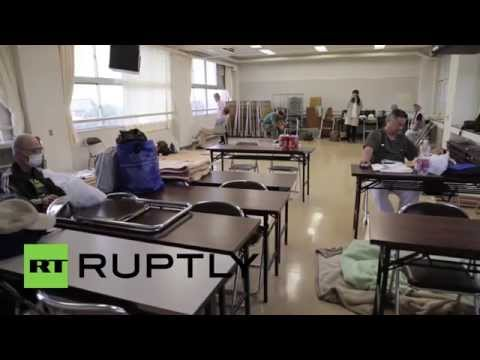 Japan: Families flee wrath of deadly storm