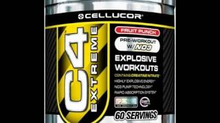 Cellucor C4 Extreme Pre-Workout Supplement Review - 8/10